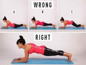 Variasi Posisi Latihan Plank