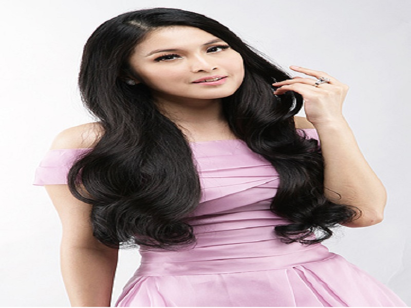Rahasia Cantik Rambut Sehat Sandra Dewi